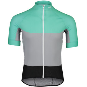 POC Essential Road Maillot léger Homme, fluorite green/alloy grey